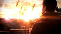 Still from movie trailer, 'Collider', by Steve Sugrim