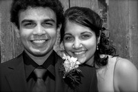 Bluevale Prom 2010 - Black and White